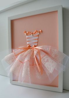 Hey, I found this really awesome Etsy listing at https://www.etsy.com/listing/229049119/princess-dress-wall-art-in-peach