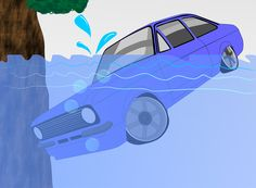 How to Escape from a Sinking Car via www.wikiHow.com