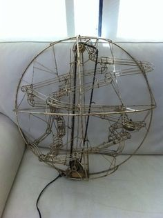 Original rolling ball machine by Stan Bennett (American kinetic sculptor) sold on ebay, Sydney for $450.