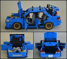 As a big fan of cars and Legos. This Subaru looks well built