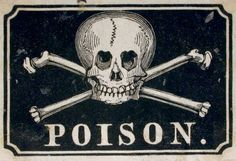étiquette de poison