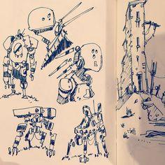 Doodles #sketchbook