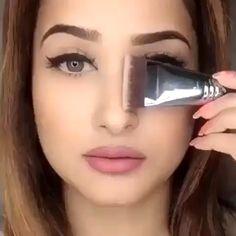 Maquiagem # Make # Make-up # Girl # Dicasdema Make-up # Dicasdema Make-up Basic Pool Maintenance Tip Nose Makeup, Contour Makeup, Eyebrow Makeup, Skin Makeup, Eyeshadow Makeup, Eye Makeup Steps, Makeup Eye Looks, Makeup 101, Beauty Makeup Tips