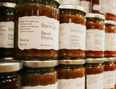 The Food Shop at Dartington, bursting with delicious Devon treats.