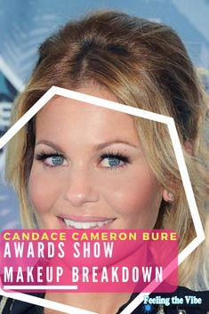 Candace Cameron Bure Makeup - Awards Show Makeup Breakdown See product list.  #CandaceCameronBure #Makeup #Awards