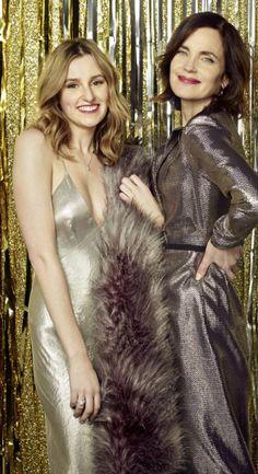 Downton Abbey! Laura Carmichael & Elizabeth McGovern