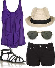 """""""Summer outfit"""" by shadowcat-368 on Polyvore"""