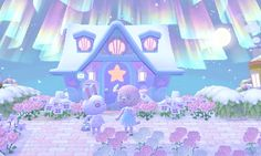 Animal Crossing Pc, Animal Crossing Villagers, Animal Crossing Qr Codes Clothes, Animal Crossing Pocket Camp, Sanrio, Kawaii Illustration, Christmas Town, Cute Games, Aesthetic Themes