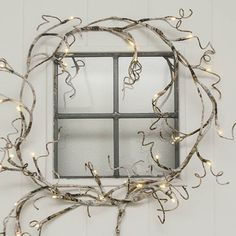 Frame a door's window with our lighted faux birch garland, or weave it through a table setting, a wreath, or your Christmas tree!