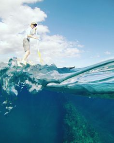 Stand up paddling over lava tubes in Makena where is your favorite place to SUP?  #hpssupmaui #hpsmaui