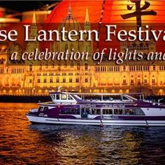 Budapest River Cruise and Chinese Lantern Festival festival celebrated on Danube River with unbelievable show on the stage, traditional Chinese songs. Drink Bar, Bar Drinks, Chinese Lantern Festival, Danube River, Course Meal, Chinese Lanterns, Traditional Chinese, Free Wifi, Hungary