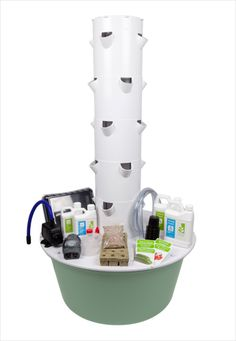 AEROPONIC.  No dirt.  Grow veggies and fruits with no tilling, or preparing soil.  I love this because you can grow totally organic plants with a brown or even black thumb.....like mine. www.shelbymeyer.towergarden.com