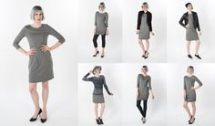 30-Day Dress (Gray)