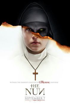 The Nun movie poster #thenun #theconjouring Fantastic Movie posters #SciFimovies posters #Horrormovies posters #Actionmovies posters #Dramamovies posters #Fantasymovies posters #Animationmovies Posters