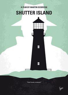 minimal minimalism minimalist movie poster chungkong film artwork dicaprio scorsese shutter island