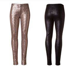 Red sequin legging *** IN STOCK *** Size: 0/4 Small, 6/8 Medium, 10/12 Large Material: 100% Poly-lining, 97% Polyester, 3% Spandex Follow care instructions