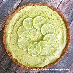 Vegetarianos e Veganos: Torta de Limão Raw Vegan I Raw Key Lime Pie