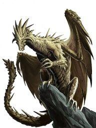 Brass Dragon by *BenWootten on deviantART