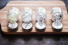 Flavored salt is so quick and simple, it's the perfect homemade gift! Chili salt, citrus salt, lavender salt, and herb salt.