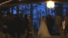 Hot Springs Arkansas Wedding Videography.  Filmed at Mountain Harbor Resort.