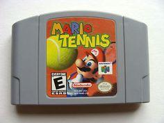 Mario Tennis Nintendo game