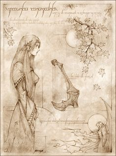 The story of Beren & Luthien (Aragorn & Arwen, as well as Tolkien and wife Edith, mirror)