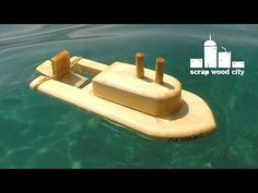 I wanted to make a summer project. I wanted to be fun and if possible to combine playing in the sea. So I made this toy boat out a few scrap spruce pieces an...