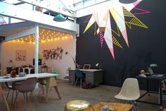 BLACK CHALK WALK: AWESOME loft office space {Design Love Fest + a group of other amazing creatives}