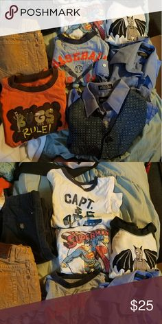 Boys lot Boys lot  3t and 4t mixed lot Tops