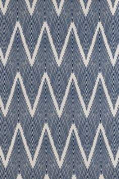 Bali - Navy printed textile from Lacefield #textiledesigner #lacefielddesigns #southernmade www.lacefielddesigns