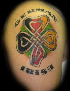 something like this for my other arm...anybody have other german / irish tattoo ideas?