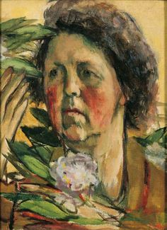 Marie-Louise von Motesiczky (Austria 1906-1996 England), Woman from Chestnut Lane. Collection Marie-Louise von Motesiczky Charitable Trust.Woman from Chestnut Lane