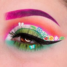 """18.3k Likes, 55 Comments - Sugarpill Cosmetics (@sugarpill) on Instagram: """"We're ready for Spring with this stunning look by @alexmarieartistry using #sugarpill Tako,…"""""""