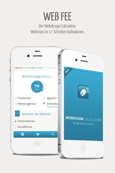 Designers Inn - WEB FEE - iPhone App - Webdesign Kosten berechnen › Webdesign-Podcast