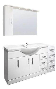VeeBath Linx Fitted Bathroom Furniture Vanity Basin Cabinet Unit White - 1500mm · $519.00 Fitted Bathroom Furniture, Furniture Vanity, Basin Cabinet, Vanity Basin, Classic Bathroom, Furniture Deals, Bathroom Ideas, Fitness, Home