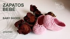 Tutorial Crochet Baby Shoes (English Subtitles) I made them….exactly instructions, the result: lovely..!!
