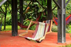 hacienda baru hotel hammock chair   - Costa Rica