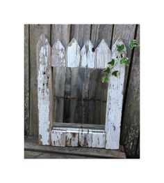 Charming Cottage Chic's White Picket Fence by MenasRusticDecor