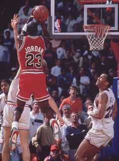 """Today marks the 23rd anniversary of Michael Jordan's famous jumper over Craig Ehlo during the fifth game of the 1989 Eastern Conference First Round. """"The Shot"""" is considered one of Jordan's top clutch moments and the reaction of the announcers make it one of the most recognizable plays in NBA history."""