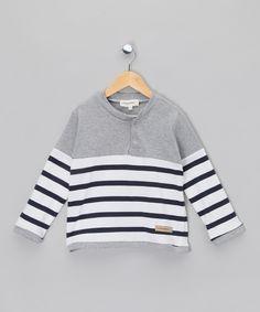 Stripy Oliver Top - Infant, Toddler & Boys by myCinnamon: Girls & Boys