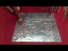 In this video I show you metal working techniques including how to properly cut out your pieces with metal shears, file, antique (patina) and add texture wit...