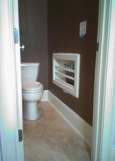 Bathroom Magazine picture of bathroom with magazine holder in wall | mr-2-in-wall