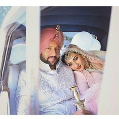 And they lived happily ever after.... Photo by Ushna Khan Photography  #indianbride #indianjewelry #desi  #sikhwedding #weddingjewelry #bridaljewelry #pink #shaadibazaar #allthingsbridal #weddingportraits #weddingphoto #weddingphotography