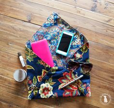 how to sew a fabric envelope