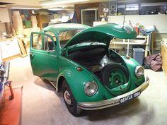 Beatle 1968 ready for restoration job