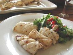 This dish could also be used with calamari. I have been looking for a squid/calamari dish that does not have Szechuan pepper as I am unable to find it. This recipe comes from The Australian Woman's Weekly Simply Seafood book.