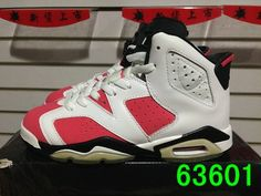Super Perfect Air Jordan 6 Carmine AAA(W) 005