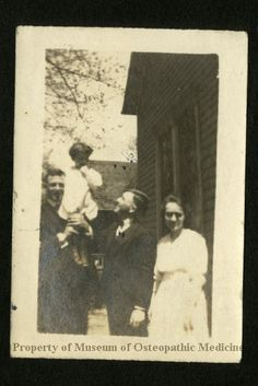 Family c. 1920. Museum of Osteopathic Medicine
