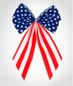 Patriotic Bows make a great decoration by themselves, or use in combination with garland. http://www.menards.com/main/outdoors/outdoor-decor/lawn-decor/patriotic-4-loop-velvet-bow/p-2017985-c-10144.htm?utm_source=pinterest&utm_medium=social&utm_campaign=4thofjuly