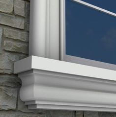 Window Sill MX209 by Mouldex Mouldings - $55.60 CAD per 8' length